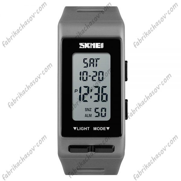 Часы Skmei 1362 серые спортивные