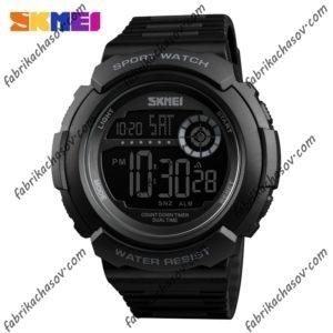 Часы Skmei 1367 черные спортивные унисекс