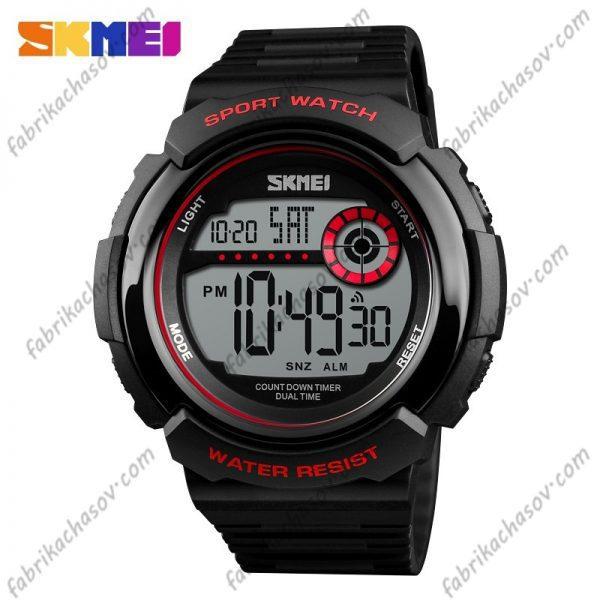 Часы Skmei 1367 красные спортивные унисекс