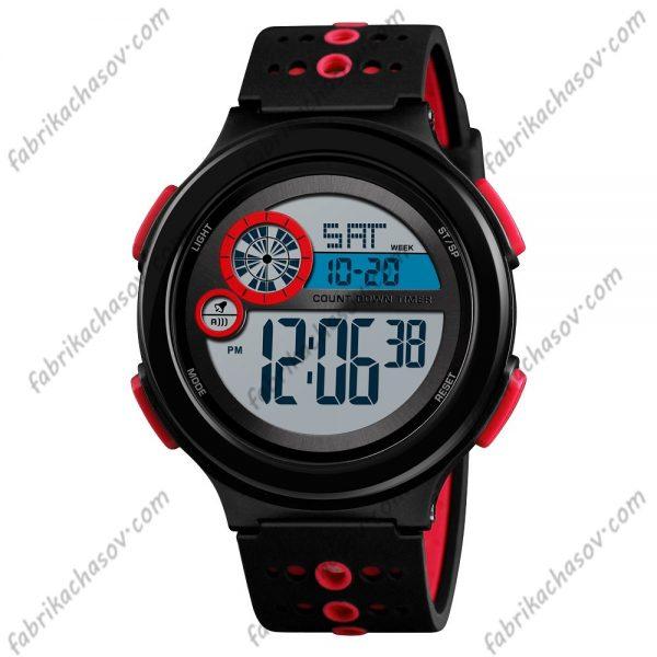 Часы Skmei 1374 красные спортивные унисекс
