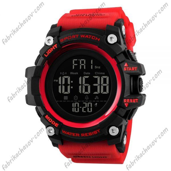 Часы Skmei 1384 красные спортивные