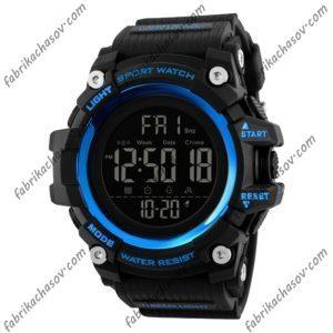 Часы Skmei 1384 синие спортивные