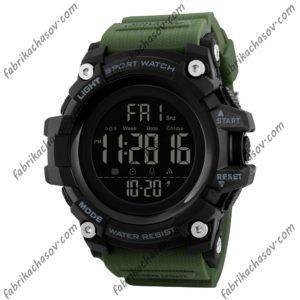 Часы Skmei 1384 зеленые спортивные