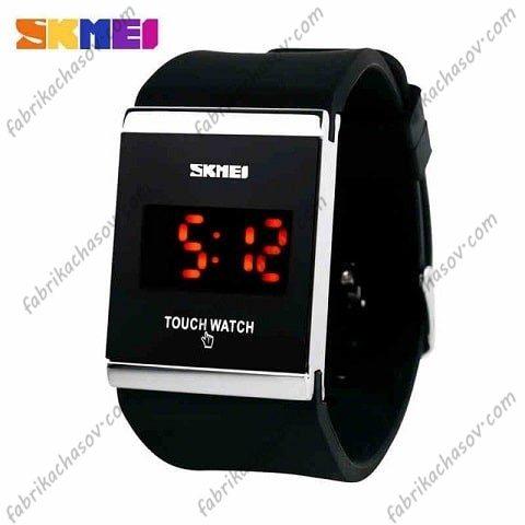 Часы Skmei 0983 черные спортивные