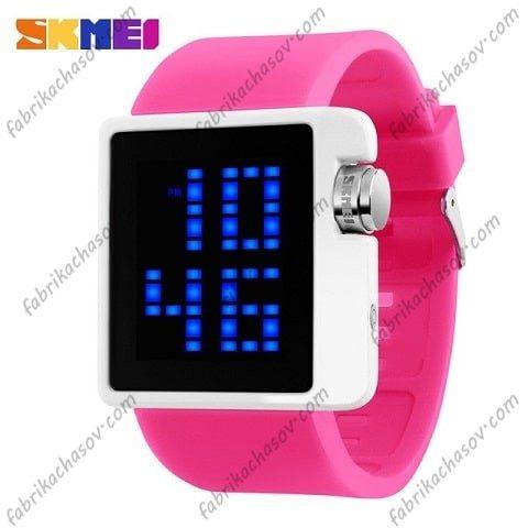 Часы Skmei 1145 розовые спортивные