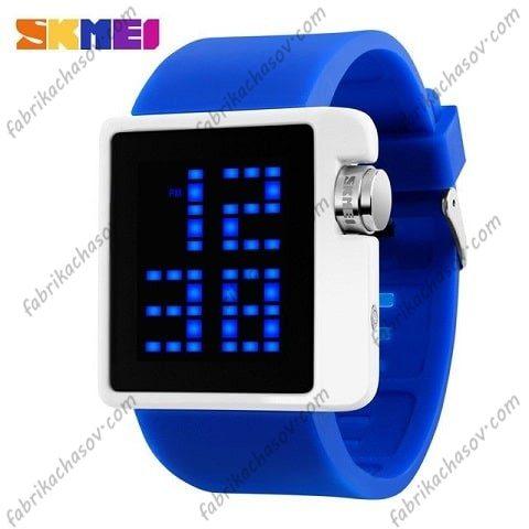 Часы Skmei 1145 синие спортивные