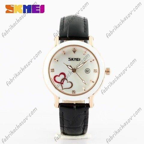 Часы Скмей 9144 черные Женские