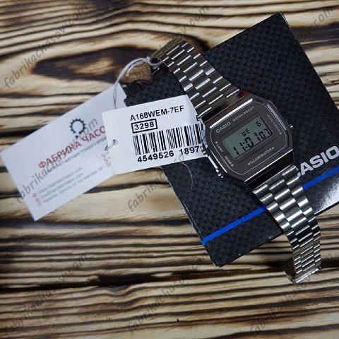 Часы Casio ILLUMINATOR A168WEM-7EF