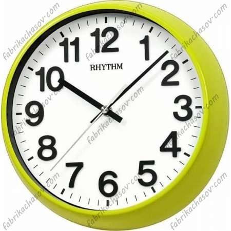 Настенные часы RHYTHM 536 желтые