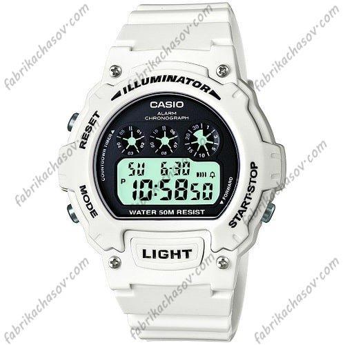 Часы Casio ILLUMINATOR W-214HC-7AVEF