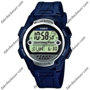 Часы CASIO W-756B-2AVE