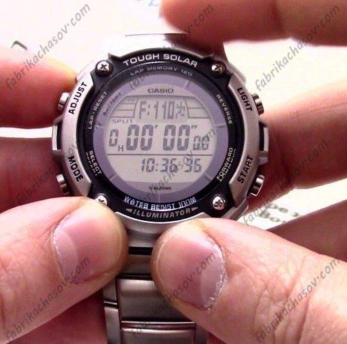 Часы CASIO W-S200HD-1AVDF