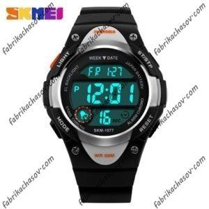 Часы Skmei 1077 спортивные черные