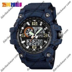 Часы Skmei 1283 синий джинс