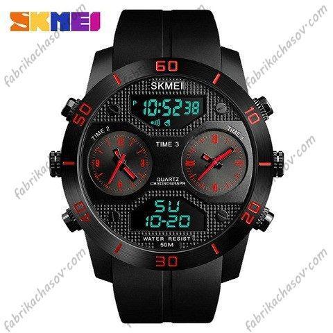 Часы Skmei 1355 красные спортивные
