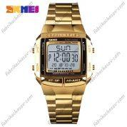 Часы Skmei 1381 золотистые