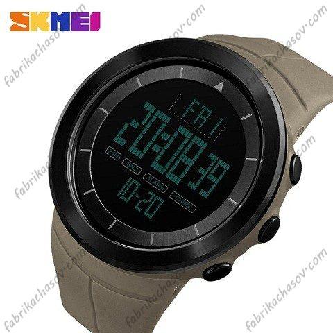 Часы Skmei 1402 коричневые