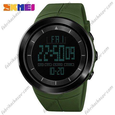 Часы Skmei 1402 зеленые