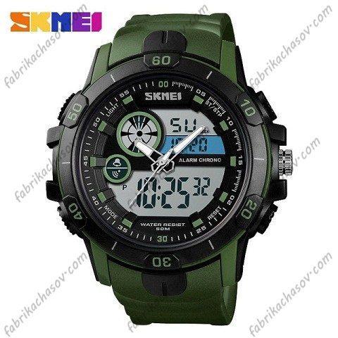 Часы Skmei 1428 зеленые