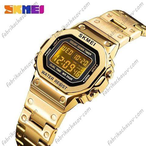 Часы Skmei 1433 золотистые