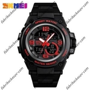 Часы Skmei 1452 красные спортивные
