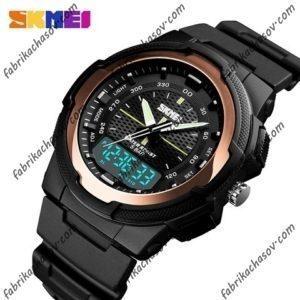 Часы Skmei 1454 золотистые спортивные