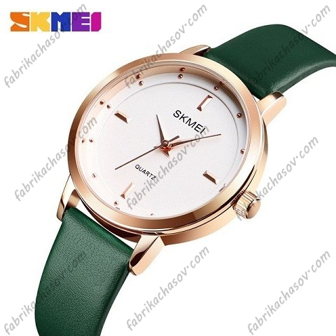 Часы Skmei 1457 зеленые