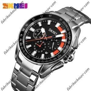 Часы Skmei 9167 оранжевая вставка