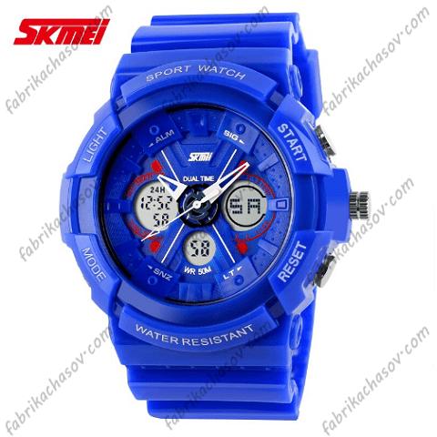 Часы Skmei 0966 Синие