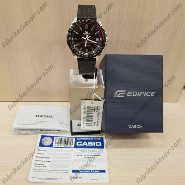 Часы Casio Edifice EFV-120BL-1AVUEF