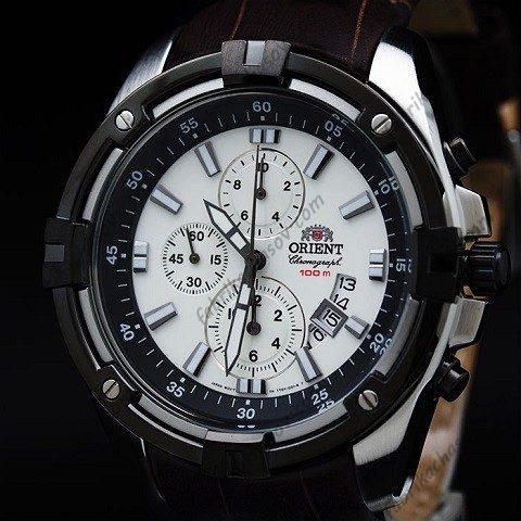 Часы ORIENT CHRONOGRAHP FTT0Y007W0