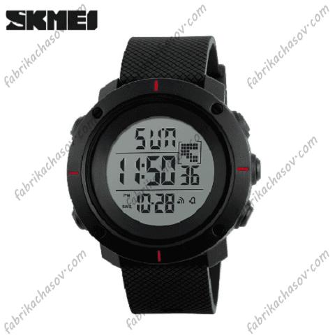 Часы Skmei 1213 красные вставки