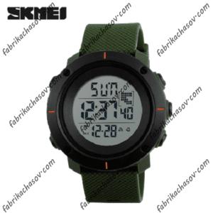 Часы Skmei 1213 зеленые