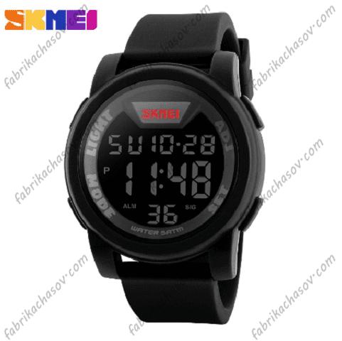 Часы Skmei 1218 черные