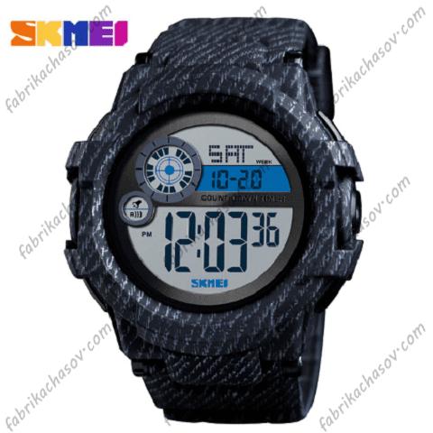 Часы Skmei 1387 черный джинс