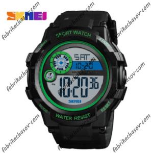 Часы Skmei 1387 зеленые