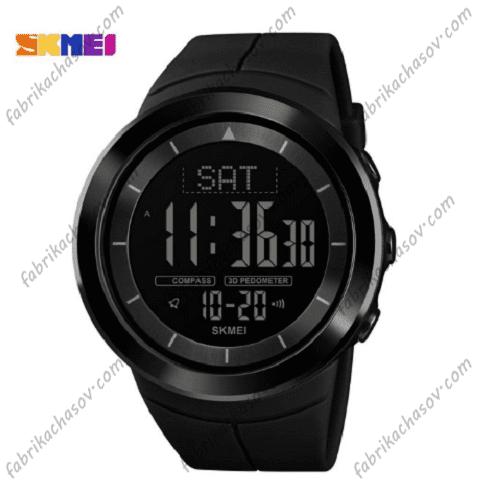 Часы Skmei 1403 с компасом черные