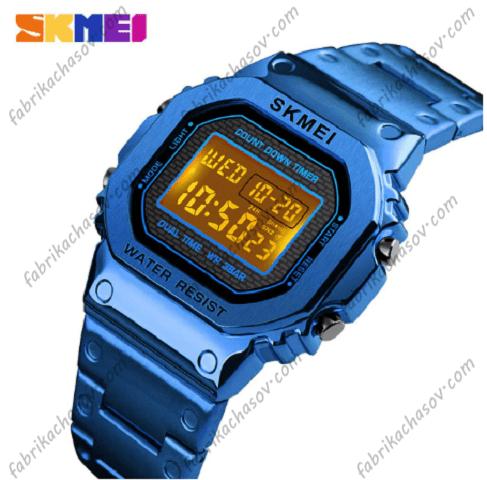 Часы Skmei 1433 синие