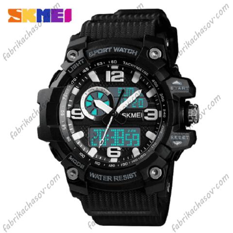 Часы Skmei 1436 blue black