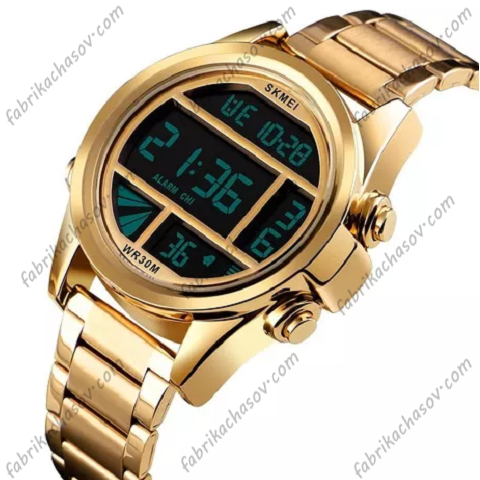 Часы Skmei 1448 светлое золото