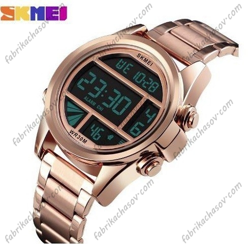 Часы Skmei 1448 золотые