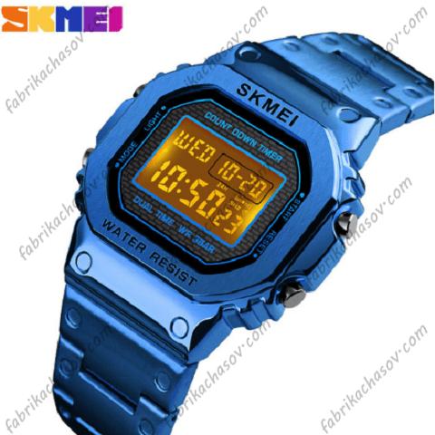Часы Skmei 1456 синие