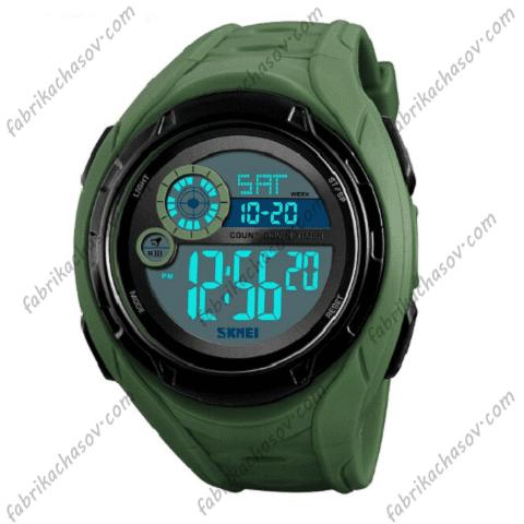 Часы Skmei 1470 зеленые