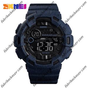 Часы Skmei 1472 denim blue