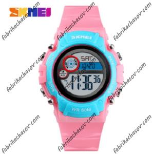 Часы Skmei 1477 pink/blue