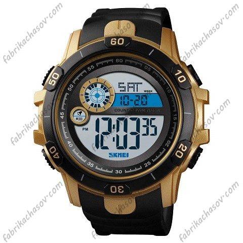 Часы Skmei 1523 gold