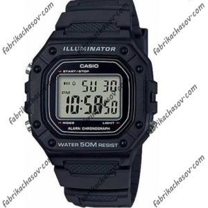 Часы Casio ILLUMINATOR W-218H-1AVEF