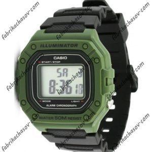 Часы Casio ILLUMINATOR W-218H-3AVEF