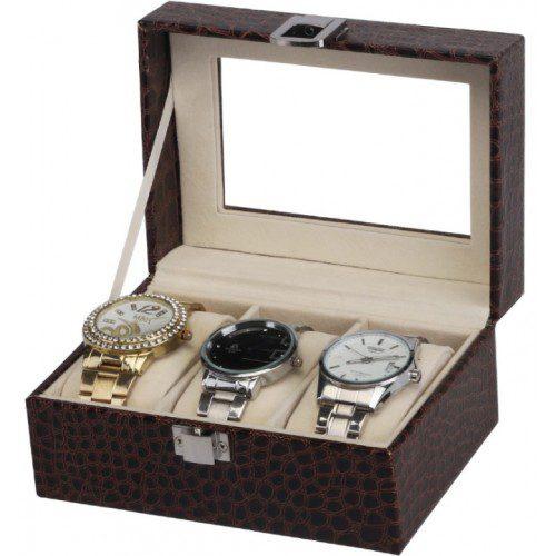 Шкатулка для хранения часов Craft 3PU.CR.BR