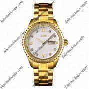 Часы Skmei 9221 gold-white